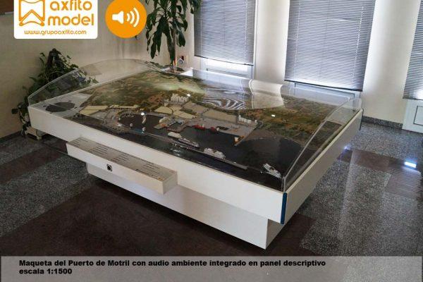 La maqueta del Puerto de Motril – Granada 2015