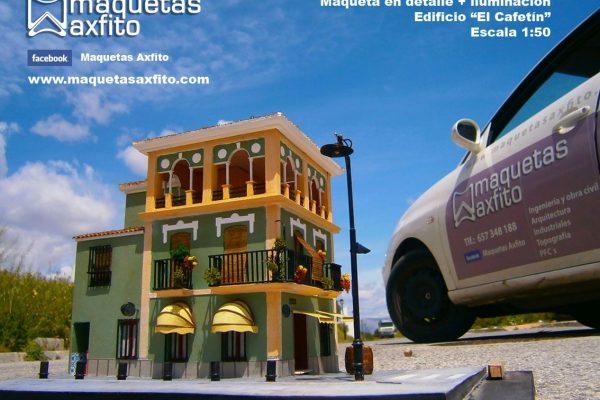 """Maqueta Edificio """"El Cafetín"""""""