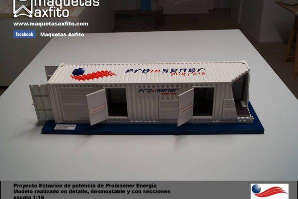 Maqueta/prototipo industrial Proinsener Energía