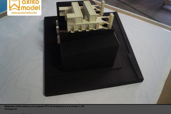 Maqueta arquitectura PFC