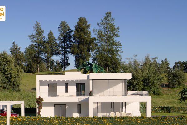 La maqueta de la villa Fairway – La Reserva de Mijas Golf