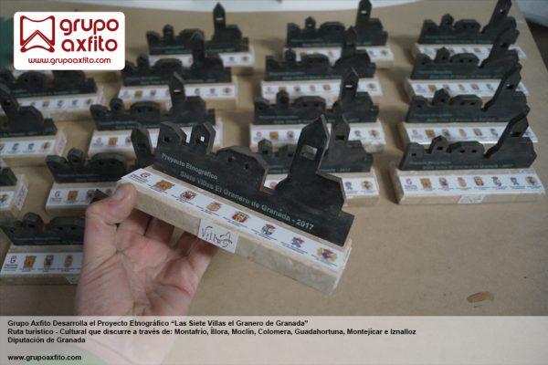 Elaboración de maquetas conmemorativas – Proyecto Siete Villas El Granero de Granada