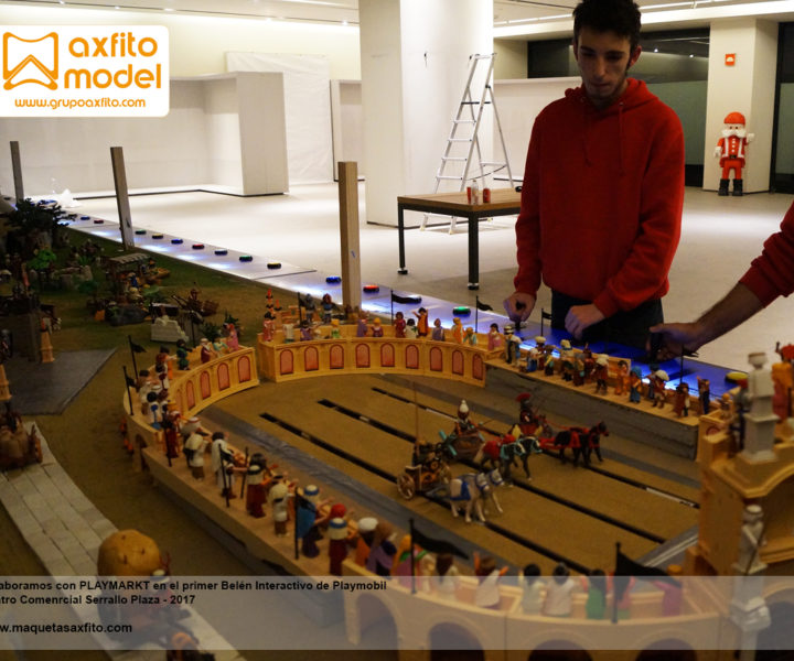 playmonbil interactivo belén grupo axfito enable arduino playmarkt serrallo plaza