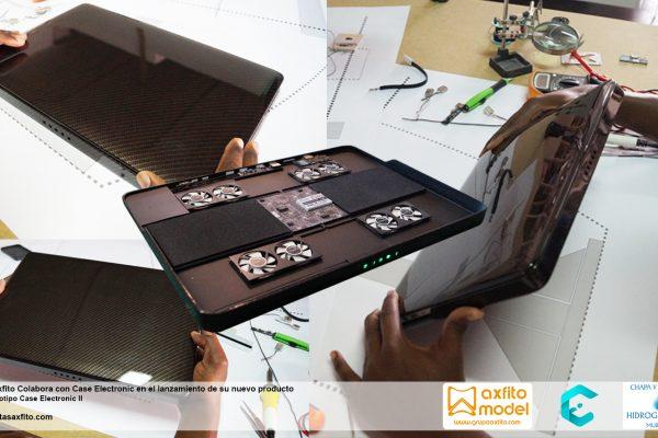 Prototipo case Electronic escala 1:1