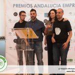 El equipo de Maquetas Axfito recoge el premio Andalucia Emprende por Tifloactiva